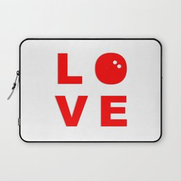 I Love Squash Laptop Sleeve