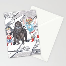 Candy Bandits Stationery Cards