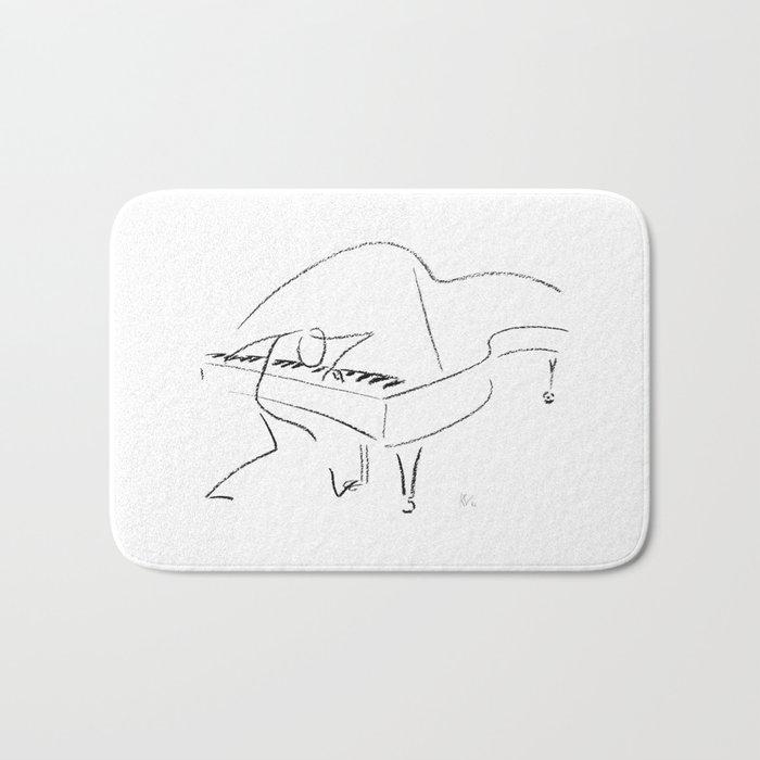 Keith Jarrett – Improvisations in Jazz Bath Mat