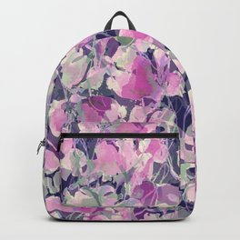 Pink Water Blossoms Backpack