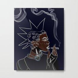 Afro Punk Metal Print