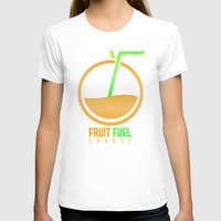 pocket fuel T-shirts featuring Fruit Fuel. by Novus.