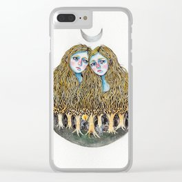 Goblin Market - illustration of poem by Christina Rossetti Clear iPhone Case