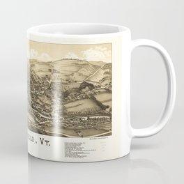 Aerial View of Springfield, Vermont (1886) Coffee Mug