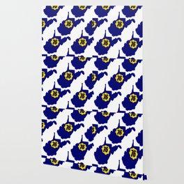 Blue & Gold 76 Wallpaper