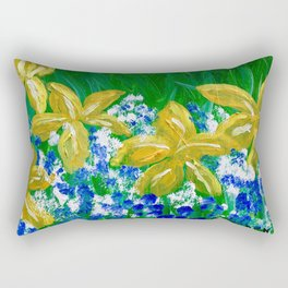 """Spring Mix"" Rectangular Pillow"