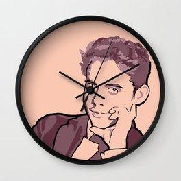 Federico Garcia Lorca Wall Clock