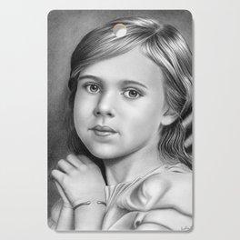 Child Portrait 01 Cutting Board