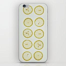 Lemon Square iPhone Skin