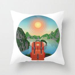 Wild Driven - Vietnam Throw Pillow