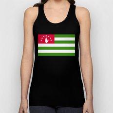 Abkhazia Flag Unisex Tank Top