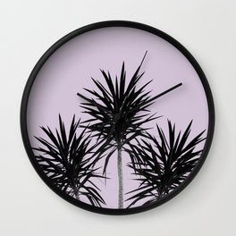 Palm Trees - Cali Summer Vibes #5 #decor #art #society6 Wall Clock