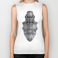 storm trooper Biker Tanks featuring Storm Trooper by Josh Belden