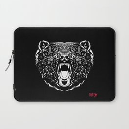 Grizzly Bear Totem Laptop Sleeve