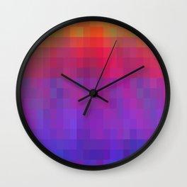 Brilliant Color Bands Wall Clock