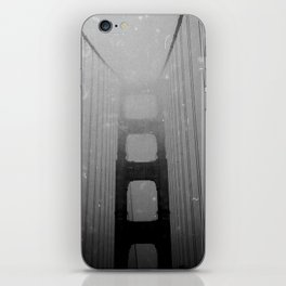 Dark Golden Gate iPhone Skin