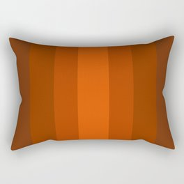 Sienna Spiced Orange 2 - Color Therapy Rectangular Pillow