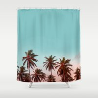 california Shower Curtains featuring California by 83 Oranges™