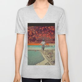 Beautiful Way Unisex V-Neck