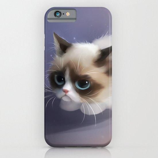 little grumpy things iPhone & iPod Case