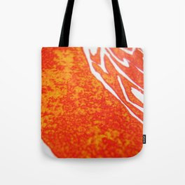 Peacock of Fire Tote Bag
