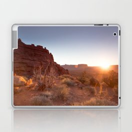 Setting Desert Sun Laptop & iPad Skin