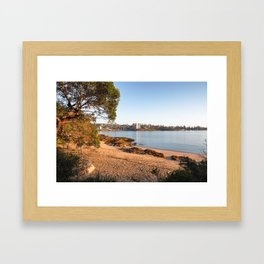 Reef Beach Framed Art Print
