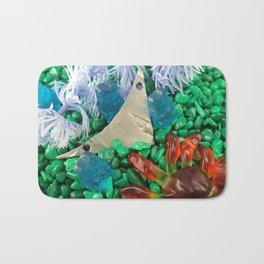 Lost in gummy space Bath Mat