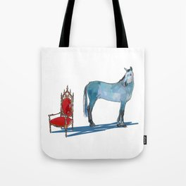 animals with chairs #1 The argument Tote Bag