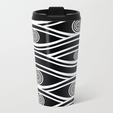 pattern 75 Metal Travel Mug