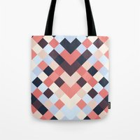 coral Tote Bags featuring CORAL by Sorbetedelimon