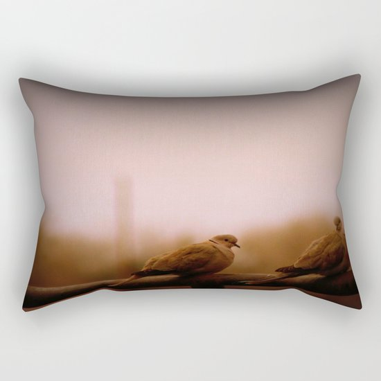 Love Doves Rectangular Pillow