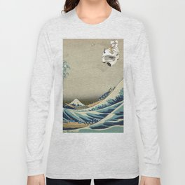 The Great Wave Off Katara Long Sleeve T-shirt