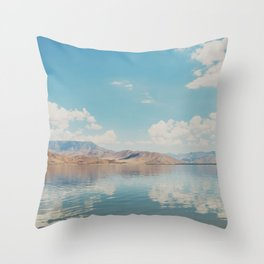 beautiful reflections ... Throw Pillow