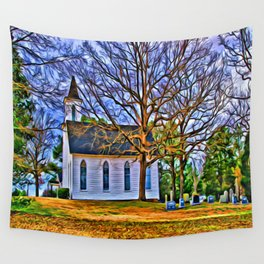 Church in the Wildwood Wall Tapestry