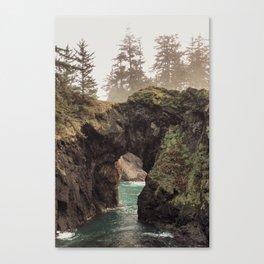 Fog at Natural Bridges Canvas Print