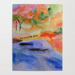 White River Fall Poster