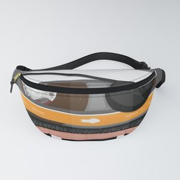 The cassette tape pirate Fanny Pack