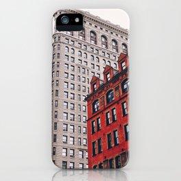 New York City - Flatiron Building iPhone Case
