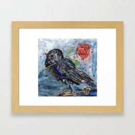 Three Eyed Raven Framed Art Print