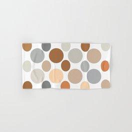 Earth Tone Circlular Abstract Hand & Bath Towel