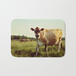 jersey cow Bath Mat