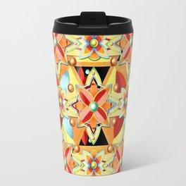 Boho Chic Suzani Star Travel Mug