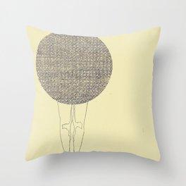 ballad legs Throw Pillow