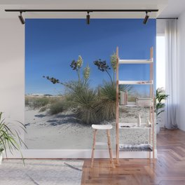 White Sands Dune With Soap Yucca Wall Mural