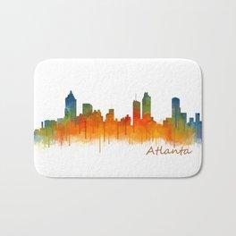 Atlanta City Skyline Hq v2 Bath Mat