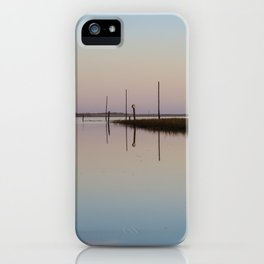 Looking out to Lindisfarne iPhone Case
