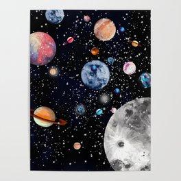 Cosmic world Poster