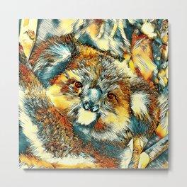 AnimalArt_Koala_20170601_by_JAMColorsSpecial Metal Print