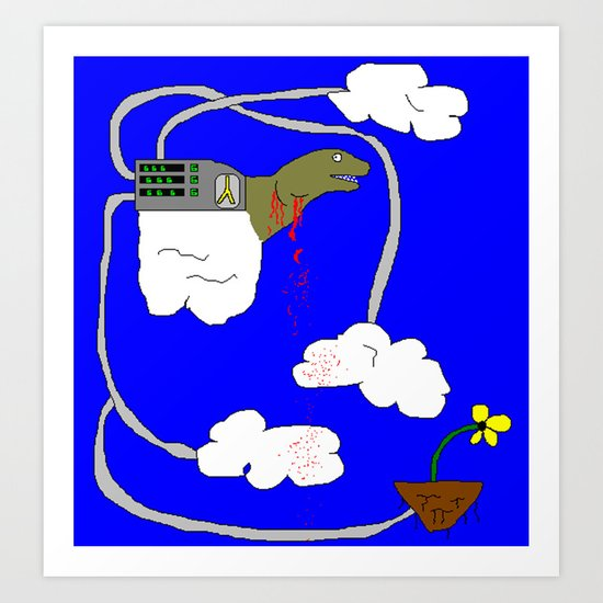 Cloud Collector Art Print
